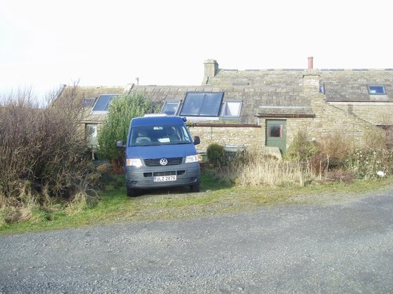 Wheems Organic Farm Orkney Bothies & Camping: parking