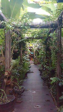 Petit Villa Boutique & Spa: lush gardens