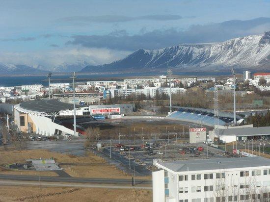 Reykjavik Lights: View from room