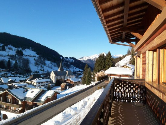 Chalet Seigneurie: View from the balcony