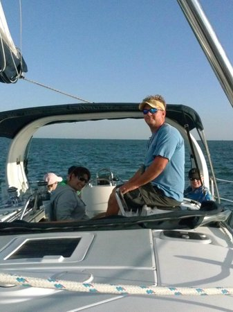 Magic Wind Adventure Sailing: Sunset Cruise with First Mate and Captain 3/1/2014