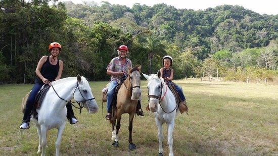 Discovery Horseback Tours: Family Shot, March 2014