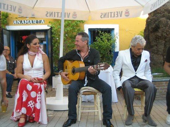 Flamenco Los Chatos Ana Maria : Ana Flamenco