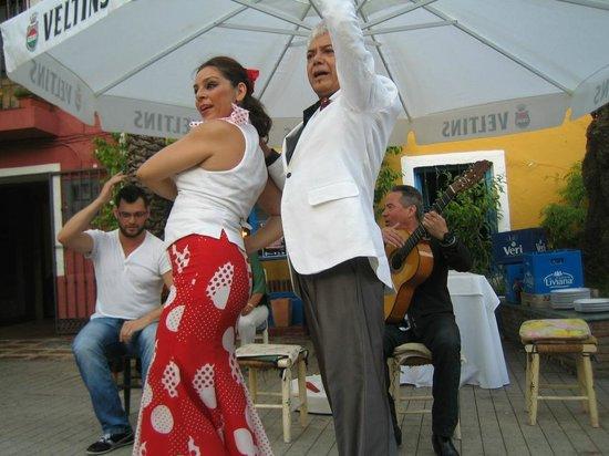 Flamenco Los Chatos Ana Maria : Performance zur Hochzeit