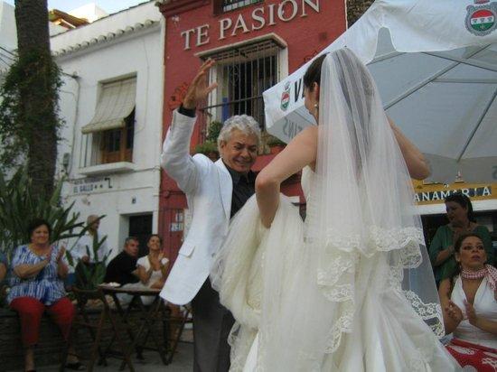 Flamenco Los Chatos Ana Maria : Tanz mit der Braut
