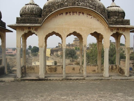 Narayan Niwas Castle: View of the castle