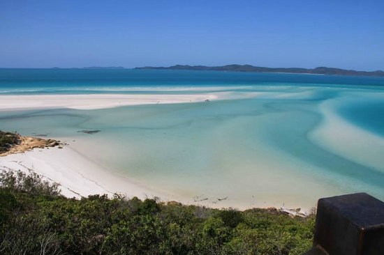 Whitehaven Beach : Whiteheven beach National Park