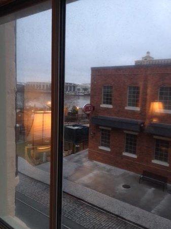 Olde Harbour Inn - River Street Suites: View from bedroom