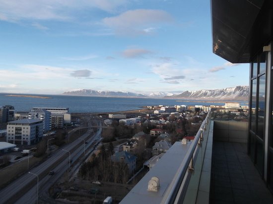 Grand Hotel Reykjavik: View from 13th Floor room