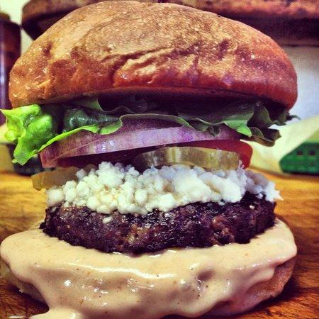 Sylvester's Burgers: Buffalo Burger
