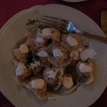 Café Pushkin: Salmon pelmeni
