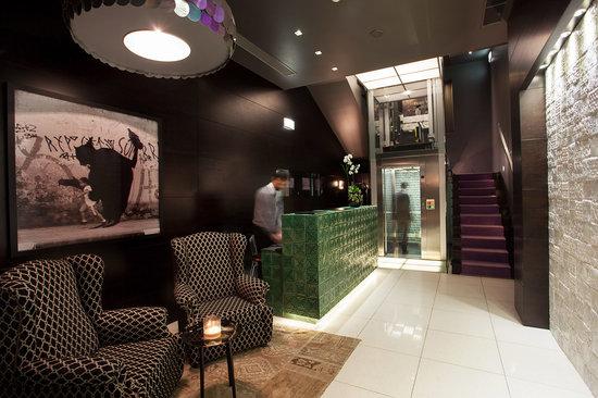 Lobby Internacional Design Hotel