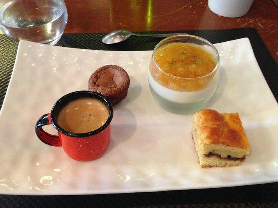 Tempero : cafe gourmand