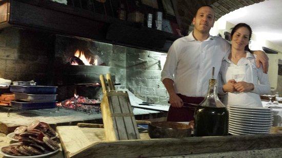 Ristorante L'Ulivo: maurizio ed una delle sue collaboratrici