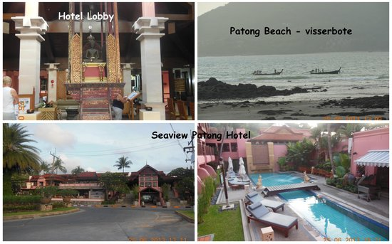 Seaview Patong Hotel : Patong Beach