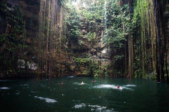 Crown Paradise Club Cancun: сенот Ик-куль