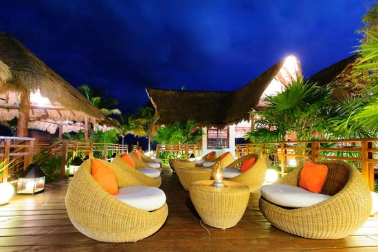 Grand Riviera Princess All Suites Resort Spa Chill Out Restaurant Bar