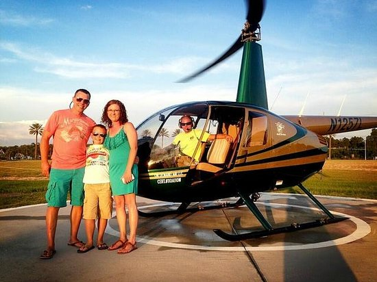Orange Beach Helicopter Tours Family Time