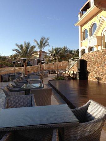 Xperience Sea Breeze Resort: Stage area