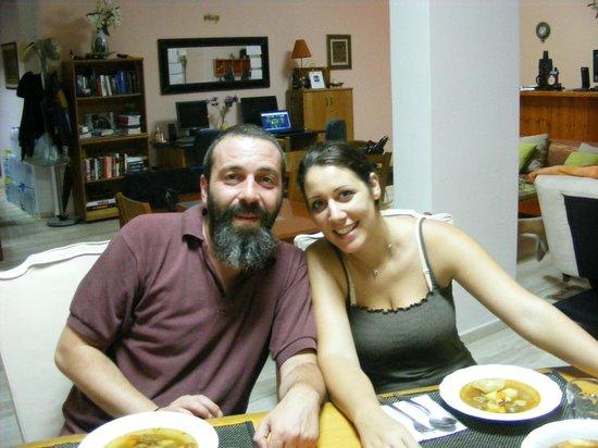 Acropole Sunrise Hotel : Petros and his wife, Marianna