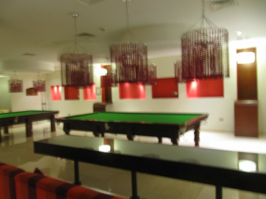 Crowne Plaza Sohar: Games/ Entertainment Room