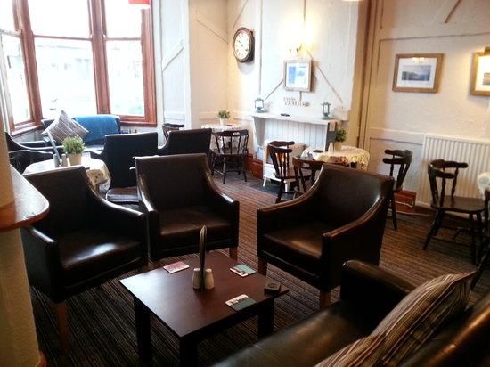 Alexandra Hotel & Licensed Restaurant: Alexandra cafe