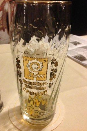 Zum Augustiner: That was a beer that was
