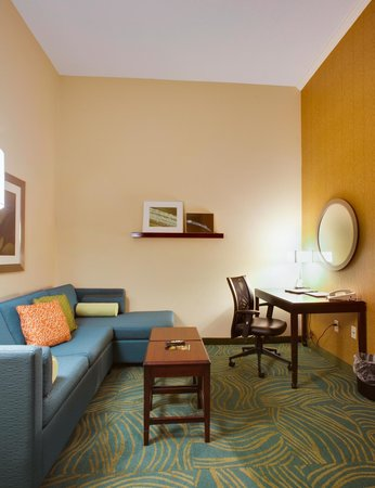 SpringHill Suites Savannah I-95 South: Studio Suite Living Area