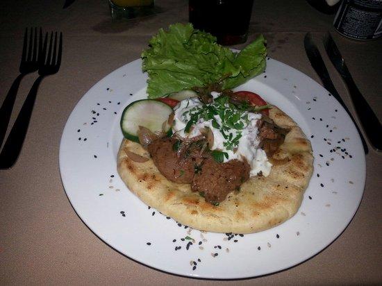 """Goldes: """"Girospita"""", prato grego."""