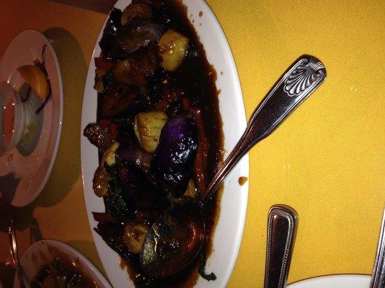 My Thai: eggplant stirfry