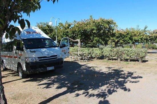 Taupo DeBretts Spa Resort: Site de camping 39