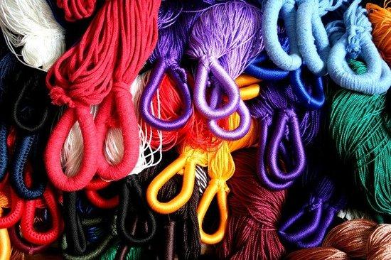 Casa de la Tia Tere: Hilados y Textililes artisticos