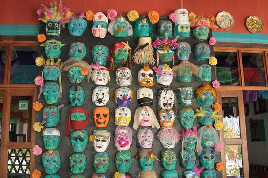 Casa de la Tia Tere: Mascaras San Martin Tilcajete