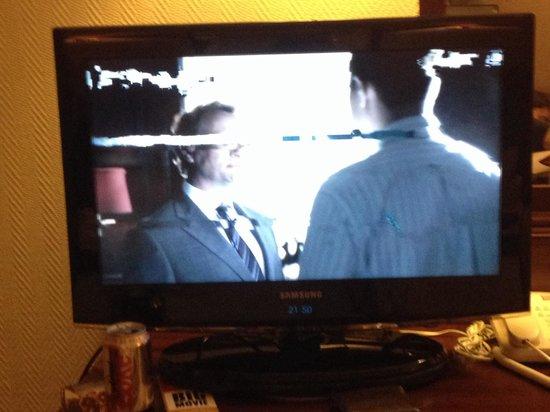 Ibis London Earls Court : Sadly, poor tv reception