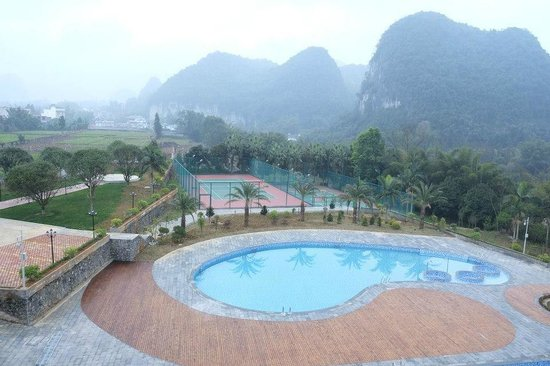 Yizhou, China: Swimming Pool