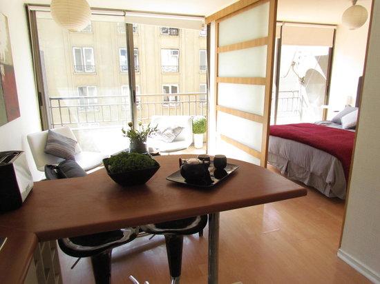Santiago Art Suites: Departamento 1 dormitorio