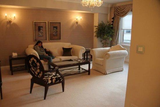 Arlington House : sala muito confortável