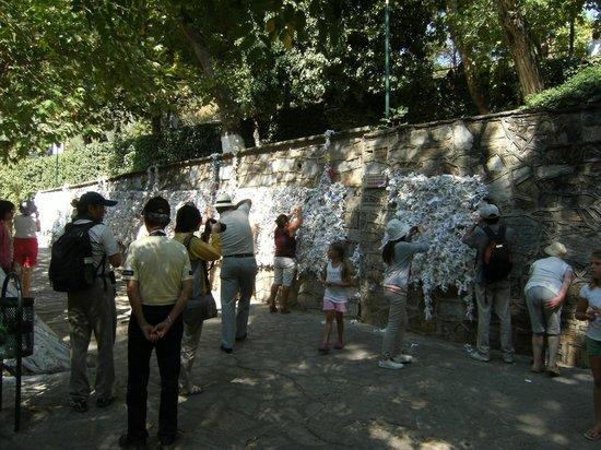Meryemana (The Virgin Mary's House): Prayer wall