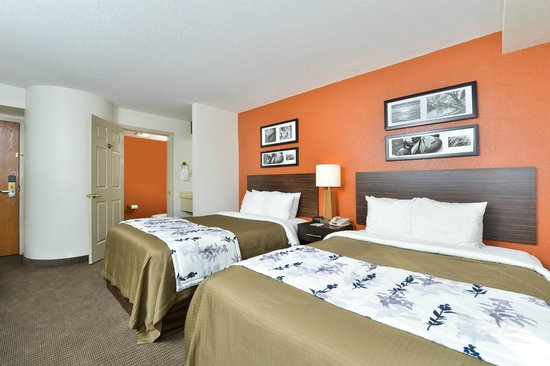 Sleep Inn & Suites Riverfront - Ellenton: Double Room