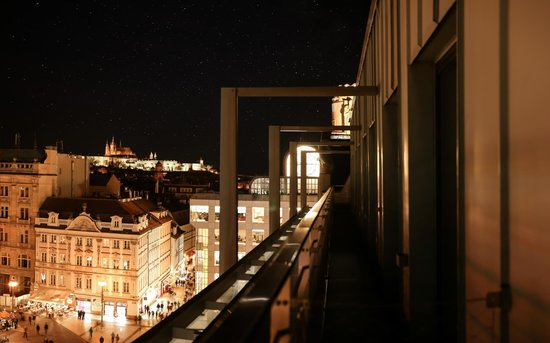 Wenceslas Square Terraces: Apartment with terrace - view from the apartment