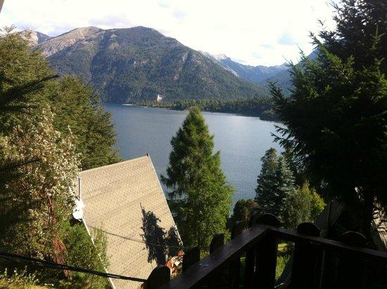 Villa Panil : La vista desde el living