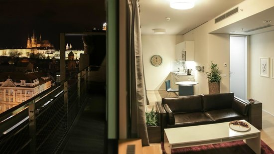 Wenceslas Square Terraces : Apartment with terrace for 2 persons