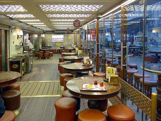 Self service cafe - Picture of Karakoy Gulluoglu, Istanbul ...