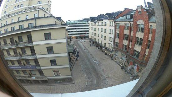 Hotelli Finn: Вид из окна