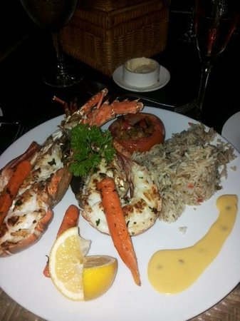 Sands Suites Resort & Spa: Aragosta al ristorante Spices 1