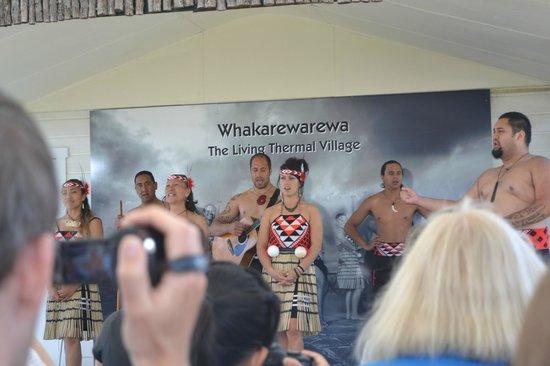 Pueblo maorí: Maori apresentation