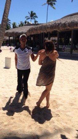 Paradisus Punta Cana Resort : Clase de Salsa con Miki!