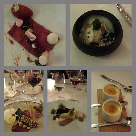 'T Lansink: Compilation 4 course menu and pre/dessert