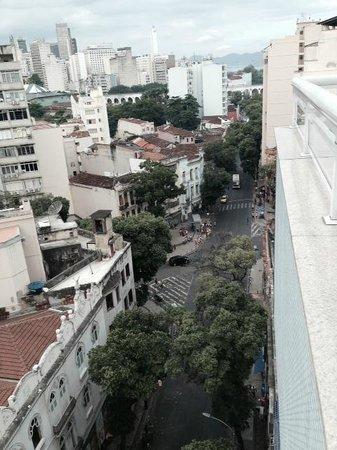 Arcos Rio Palace Hotel: Vista do último andar (bar e piscina)