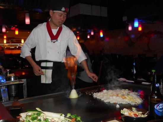 Shogun Hibachi Restaurant: Onion volcano